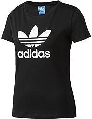 adidas Damen T-shirt Trefoil