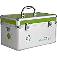 HuAma Familie Aluminium Kleine Medizin Box Multi-Layer Medizinische Ambulante Erste Hilfe Kit Medizin Lagerung... preisvergleich bei billige-tabletten.eu