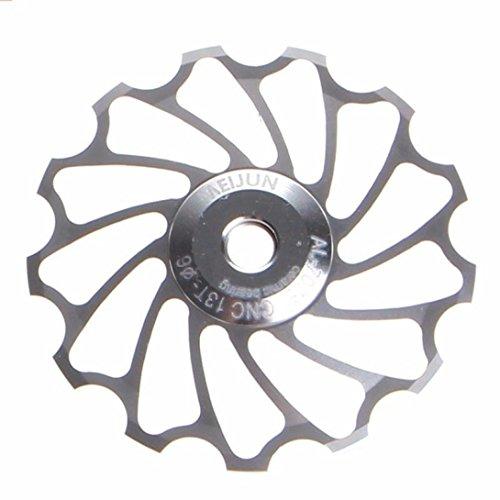 fulltimer-13d-mtb-roulement-en-ceramique-jockey-roue-poulie-road-bike-velo-derailleur-arriere-argent