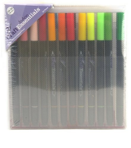 jo-ann-craft-essentials-water-based-pen-set-24pk-by-jbr1300002