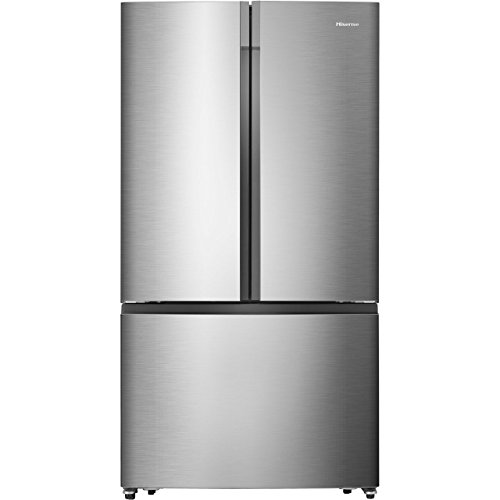 Hisense RF715N4AS1 Freestanding A+ Rated American Fridge Freezer -Stainless Steel Best Price and Cheapest