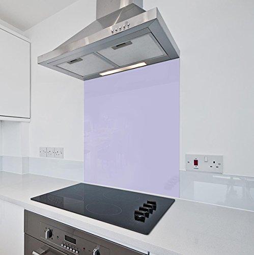 Lilla da cucina in vetro Splashback by COLOUR2GLASS – 6 mm di ...