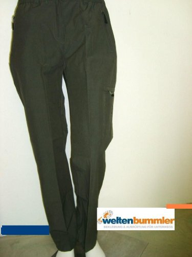 Hot Sportswear Randonnée Femme de Loisirs Pantalon BENIA Kaki Taille 36