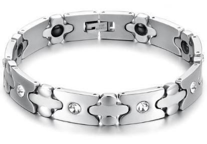 Ewigkeit Magnetisches Armband, für Arthritis-Schmerz-Entlastung Magneten für Angst-Entlastungs-Magnettherapie-Armbänder (Style : B)
