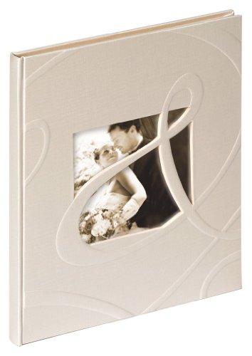 """Walther GB-122 Gästebuch \""""Ti Amo\"""", Format 23 x 25 cm, 144 weiße Seiten, mit Bildausschnitt"""