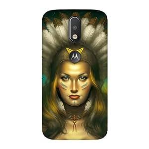 FASHEEN Premium Designer Soft Case Back Cover for Motorola Moto G4 Plus
