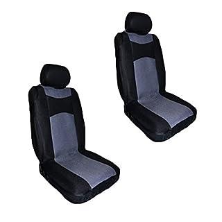 autooptimierer.de Auto-Sitzbezüge Protector mit universeller Passform - Schutz Sitzüberzug für Autositze (2 Stück)