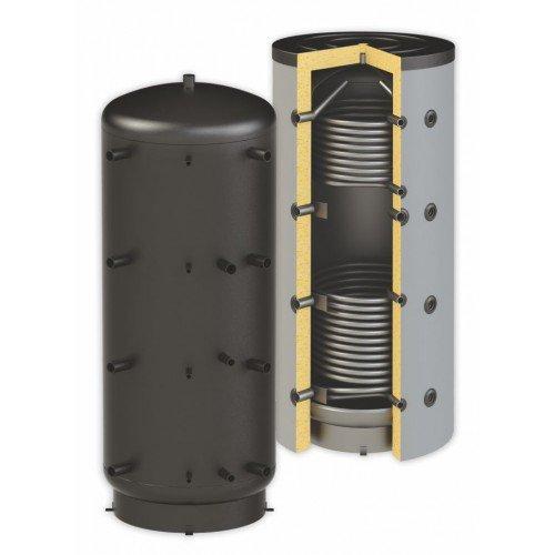 Pufferspeicher Thermoflux 2000 Liter Heizungswasser PBM-RR 90° Anschlüsse 2 WT