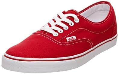 Vans U LPE RED, Unisex-Erwachsene Sneakers, Rot (Red / RED), 34.5 EU