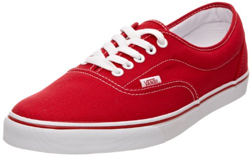 Vans AUTHENTIC, Sneaker Unisex adulto, Rosso (Red VJK6), 42