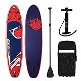 Die besten Paddle Boards für Anfänger - 'Stand Up Paddle aufblasbar Cruiser 10' 4(317cm Adrenalin) Bewertungen