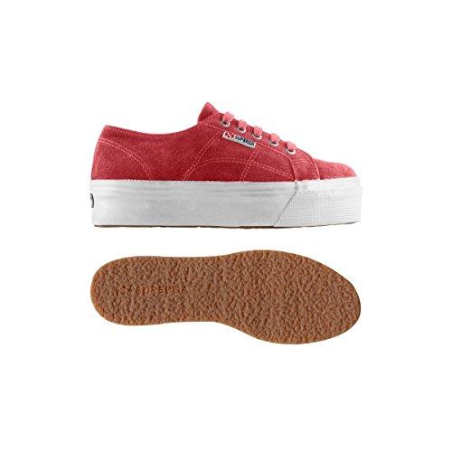 Superga 2790-Suew, Chaussures de Gymnastique Femme Tea Rose