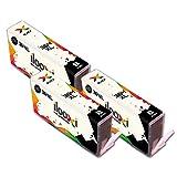Ilooxi Kompatibel HP 364XL Druckerpatronen mit Chip zu HP Photosmart 5510 5511 5512 5514 5515 5520 5522 B8550 C5324 C5370 C5373 C5383 C309a C309g C310a C310c C410a B210d B210e Deskjet 3070A (3 Black)