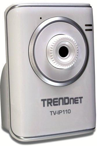 Trendnet TV-IP110 SecurView-Internetkamera weiß Securview-tv