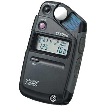 Sekonic Flashmate L-308S Digital Light/Flash Meter-Grey