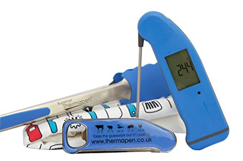 Thermapen SuperFast 4 Thermometer with FREE set of BBQ accessories