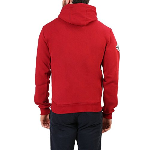 Geographical Norway Falopark_man Felpe Uomo Rosso
