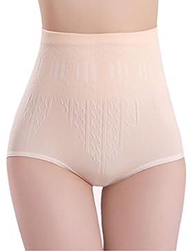 K-youth® Reductora braguitas moldeadora de cintura alta para mujer Elasticidad Bragas