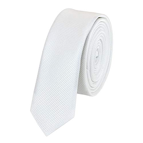 Stilvolle Krawatte in schwarz gestreiftv 3cm