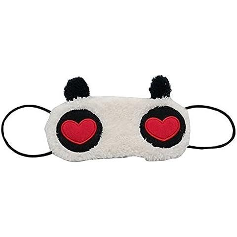 Sanway Dormir remiendo del ojo, coraz¨®n Panda Ojos Peach