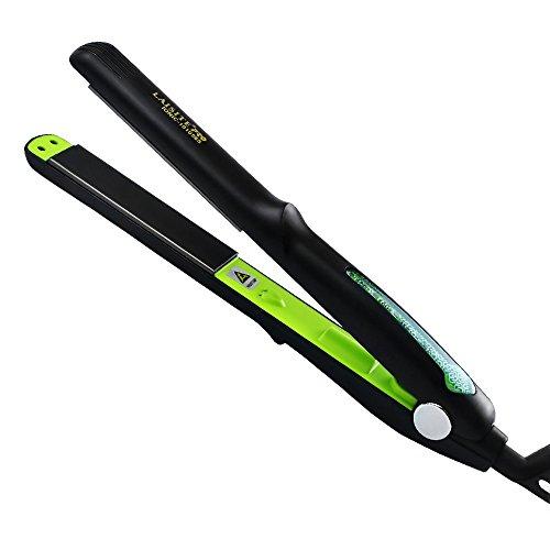 Electronic alisado rápido alisador de cabello portátil Mini Secador de pelo mojado/planchas und profesional 360grado giratorio de libre