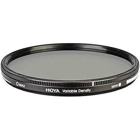 Hoya Variable Density 3-400 - Filtro polarizador de 52 mm, montura negra