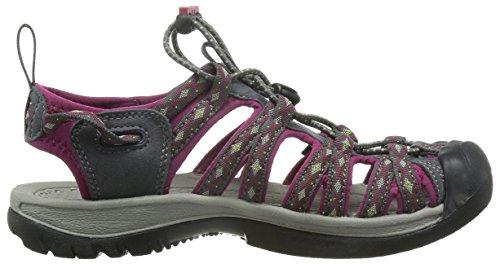 Keen Damen Whisper Sandalen Trekking-& Wanderschuhe Mehrfarbig (Magnet/Sangria)