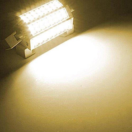NEWSTARTS 1set Dimmbare 30W Tageslicht R7S J118 LED 6000k LED endete Art Halogen Doppelscheinwerfer Ersatzlampe Flutlicht Lampe im Freien Flutlicht (Warmweiß) -