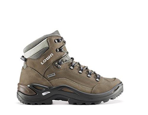 Lowa Renegade GTX Mid High Rise Chaussures de randonnée pour Homme, Marron, 5 - - - Stein, 40