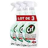 CIF Pistolet Spray Nettoyant Javel, Efficacité & Brillance (Lot de 3x750ml)