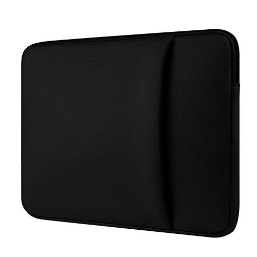 Custodia Protettiva Sleeve Case Borsetta per Laptop / Notebook / Macbook Air / Macbook Pro / Macbook Pro Retina Nero 2 13 Pollici