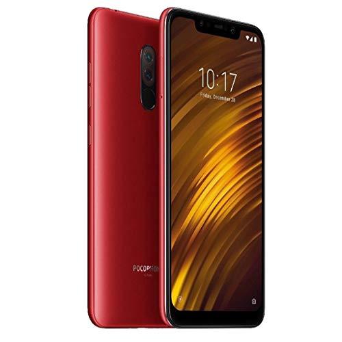 Smartphone Bundle Kompatibel mit Xiaomi,Nourich F1 (6.18 Zoll) 64GB interner Speicher, 6GB RAM, Dual SIM Werkseitig Entsperrte Global Version Mobiltelefon Mobile Phone Cellphone (rot(164GB))