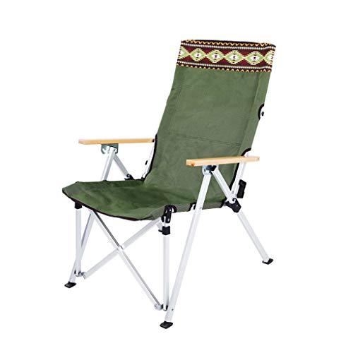ZHENYANG Klappstuhl Tragbarer Erwachsener Strandliegestuhl Im Freien Freizeitstuhl Mittagspausenstuhl Im Freien