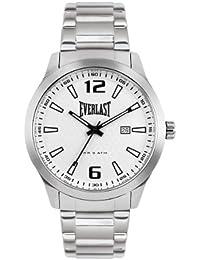 Everlast EV-221-004 - Reloj de pulsera hombre, acero inoxidable, color plateado