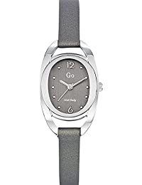 Go Girl Only Damen-Armbanduhr 698679–Armbanduhr 1076312Analog Leder Grau