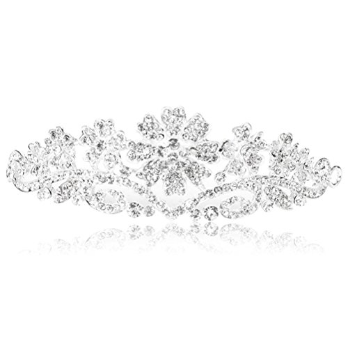 Pixnor Strass Couronne cheveux strass cristal Bridal bandeau
