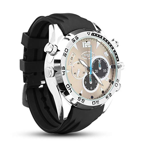 Yongse 1080P HD IR Waterproof Camera Watch Night Vision Hidden Video Recorder Ir-watch