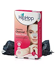 HipHop Skincare Charcoal Nose Strips for Women - Blackhead Remover (3 Strips)