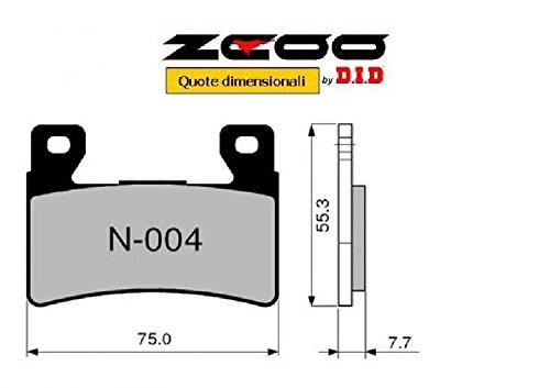 45N00400 PASTIGLIE FRENO ZCOO (N004 EX) HONDA CBR 600 RR 2003-2004 (ANTERIORE)