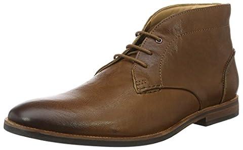 Clarks Herren Broyd Mid Kurzschaft Stiefel, Braun (Tan Leather), 44 EU