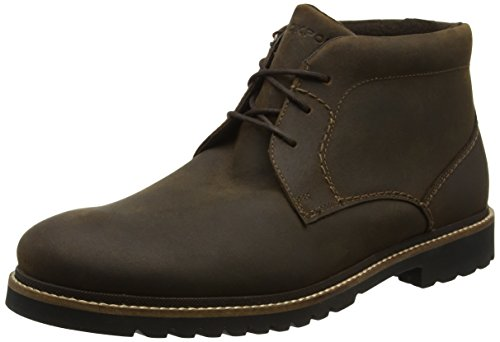 Rockport Men's Marshall Chukka Boots, Brown (Brown Oiled Leather), 9 UK 43...