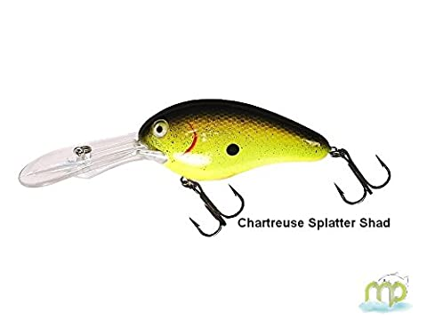 Kunstköder schwimmend Livingston Lures Dive Master 20 Fresh Water 7 cm