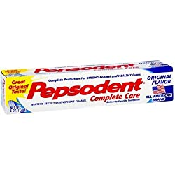 Pepsodent Complete Care Toothpaste Original Flavor 6 oz (Pack of 3)
