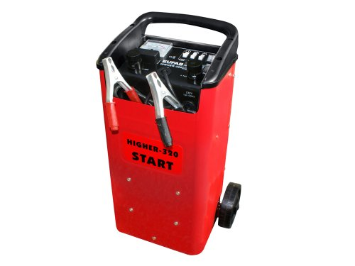 HIGHER 320 Fahrbares Batterieladegerät 12/24 V