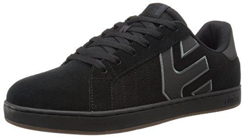 Etnies Herren Fader LS Skateboardschuhe, Schwarz (Black/Charcoal/Gum558), 6 UK 39 EU (Etnies Skateboard Schuh)