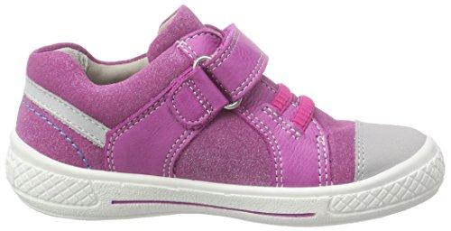 Superfit Tensy, Baskets Basses Fille Violet (dahlia Kombi 74)