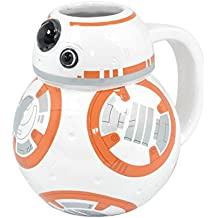 Star Wars - Taza de cerámica, diseño BB-8 3D, sin tapa
