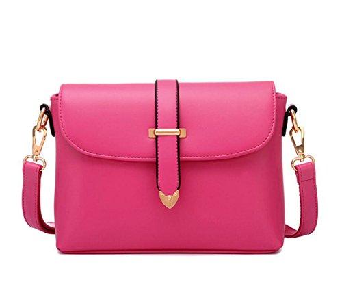 Modelli Estivi Piccole Fresche Retro Sacchetto Di Spalla Casuale Pacchetto Diagonale Borse Moda Marea Pink