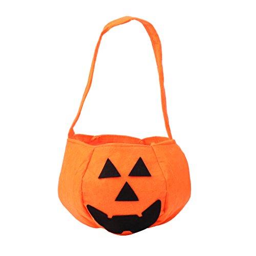 Tandou Kinder Halloween Kürbis Süßigkeiten Trick oder Leckerli-Tasche Handtasche Party Kostüme Werkzeug NEU (Kinder Für Halloween-süßigkeiten)