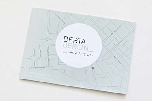 Preisvergleich Produktbild Berlin Reiseführer und Stadtplan, BertaBerlin - Neukölln und Berlin / Mini Pocket Guide / Map Guide